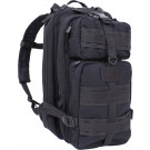 Black Military MOLLE Medium Transport Tactical Pack Backpack