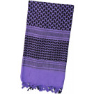 Purple Shemagh Lightweight Arab Tactical Military Desert Keffiyeh Scarf