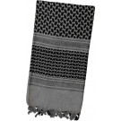 Grey Shemagh Lightweight Arab Tactical Military Desert Keffiyeh Scarf