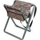 Woodland Digital Camouflage Portable Folding Deluxe Stool
