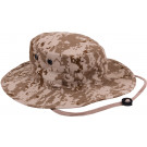 Desert Digital Camouflage Military Adjustable Wide Brim Boonie Hat