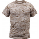 Desert Digital Camouflage Military Short Sleeve T-Shirt