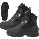 Black Extreme Cold Thermoblock 600 Gram Insulated Waterproof Winter Boots