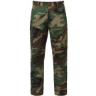 Woodland Camouflage Rip-Stop Military Cargo BDU Fatigue Pants