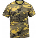 Stinger Yellow Camouflage Military Short Sleeve T-Shirt