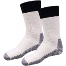 Natural Heavy Weight Thermal Boot Socks Pair
