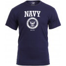 Navy Blue US Navy Emblem T-Shirt
