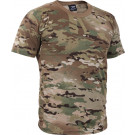 Multi Cam Military 100% Cotton Military Short Sleeve T-Shirt
