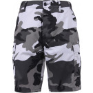 City Camouflage Combat Military Cargo BDU Shorts