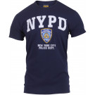 Navy Blue NYPD Officially Licensed Short Sleeve T-Shirt