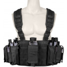 Black Tactical Law Enforcement Chest & Belt Rig