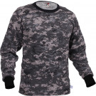 Subdued Urban Digital Camouflage Tactical Long Sleeve Military T-Shirt