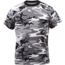 City Camouflage Military Short Sleeve T-Shirt