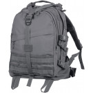 Gun Metal Grey Military MOLLE Large Transport Assault Pack Backpack