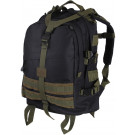 Black & Olive Drab Military MOLLE Large Transport Assault Pack Backpack