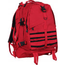 Red Military MOLLE Large Transport Assault Pack Backpack