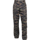 Tiger Stripe Camouflage Military Cargo BDU Fatigue Pants