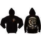Black USMC Marines Devil Dog Sweatshirt
