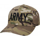 MultiCam Adjustable US Military Embroidered ARMY Low Profile Cap