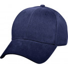 Navy Blue Solid Supreme Low Profile Adjustable Cap