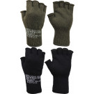 Genuine GI Govt Issue Military Fingerless Wool Gloves - USA Made