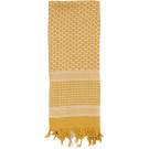 Desert Sand & Tan Shemagh Heavyweight Arab Tactical Desert Keffiyeh Scarf