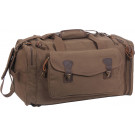 Coyote Brown Canvas Weekend Travel Shoulder Bag w/ Backpack Straps