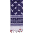Red White & Blue Stars & Stripes US Flag Heavyweight Desert Shemagh