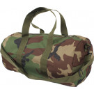Woodland Camouflage Sports Gym Duffle Carry Shoulder Bag & Strap