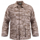 Desert Digital Camouflage MARPAT BDU Shirt Fatigue Jacket Coat