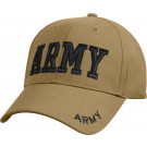 Coyote Brown Military US Army Deluxe Low Profile Adjustable Cap
