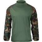 Woodland Camouflage Military Heat Resistant Tactical Lightweight Combat Shirt