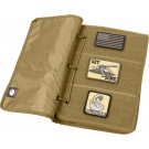 Coyote Brown Hook & Loop Patch Book