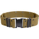 Coyote Brown Marine Corps Style Quick Release Pistol Belt