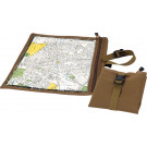 Coyote Brown Waterproof Nylon Map & Document Case