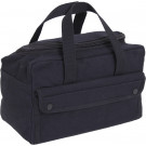 Black Military Mechanics Tool Bag w/ U Shaped Zipper