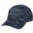 Midnight Digital Camouflage Tactical Military Baseball Operator Cap