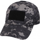 Subdued Urban Digital Camouflage Military Low Profile Adjustable Tactical Operator Cap