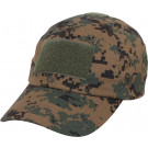 Woodland Digital Camouflage Military Low Profile Adjustable Tactical Operator Cap