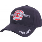 Navy Blue Law Enforcement Fire Department Deluxe Low Profile Adjustable Cap