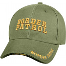 Olive Drab Border Patrol Deluxe Low Profile Adjustable Cap