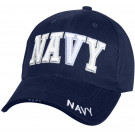 Navy Blue Military Navy Deluxe Low Profile Adjustable Cap