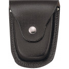 Black Deluxe Leather Handcuff Case