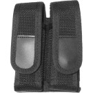 Black Law Enforcement Dual Magazine Pouch