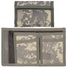 ACU Digital Camouflage Military Nylon Commando Tri-Fold Wallet