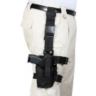 Black Military Deluxe Tactical Adjustable Drop Leg Holster