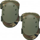 Woodland Camouflage Multi-Purpose Tactical SWAT Knee Pads