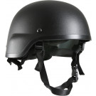 Black ABS MICH-2000 Replica Tactical Helmet