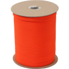 Safety Orange Nylon Paracord 550LB 1000 Feet Spool