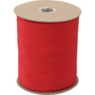 Red 550LB Nylon Paracord 1000 Feet Spool